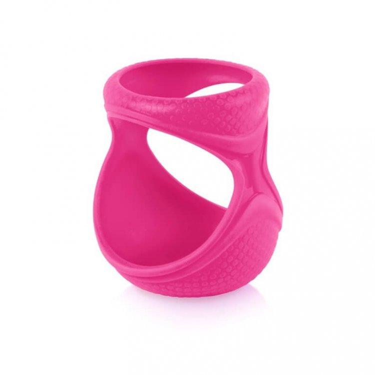 Силиконовый чехол для бутылочки Boob Baby 150мл розовый от Joovy.pro