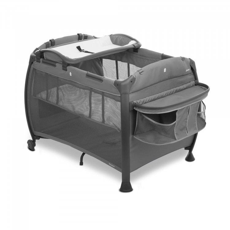 Манеж-кроватка Room New серый от Joovy.pro