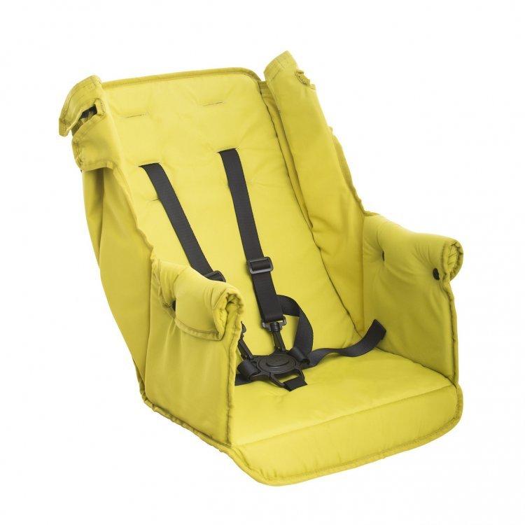 Второе сидение Caboose Too Seat Желтый от Joovy.pro