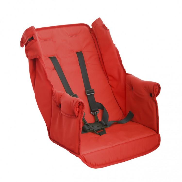 Второе сидение Caboose Too Seat Красный от Joovy.pro