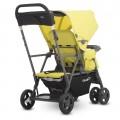 Прогулочная коляска Joovy Caboose Ultralight Graphite лимонная от Joovy.pro