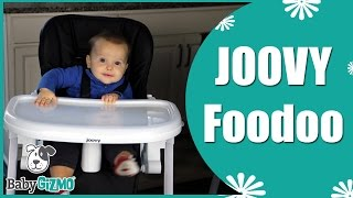 Joovy FooDoo High Chair for Baby Review by Baby Gizmo
